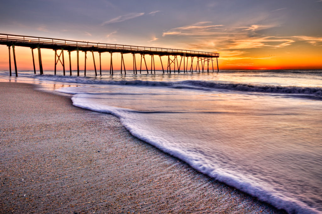 Crystal Pier Sunrise
