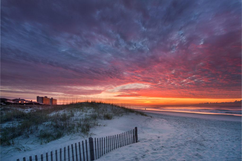 Shell Island Sunrise