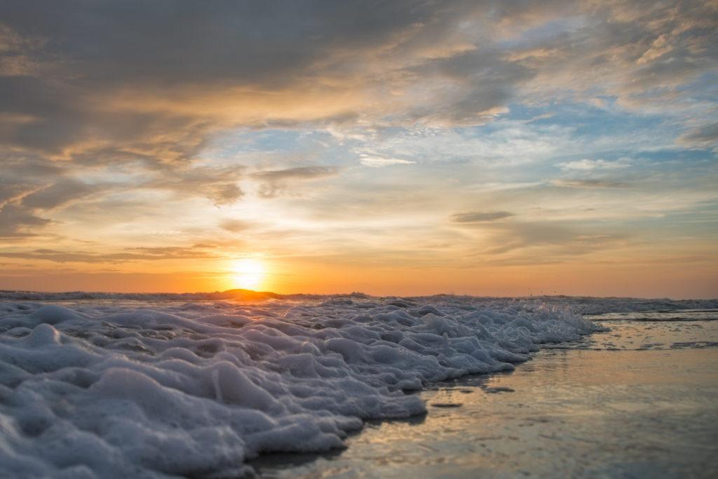Soap Suds Sunrise