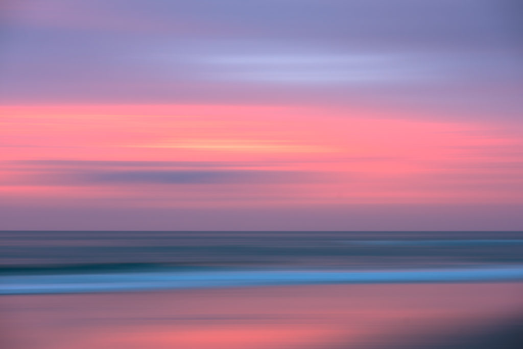 Sunrise Color Blur
